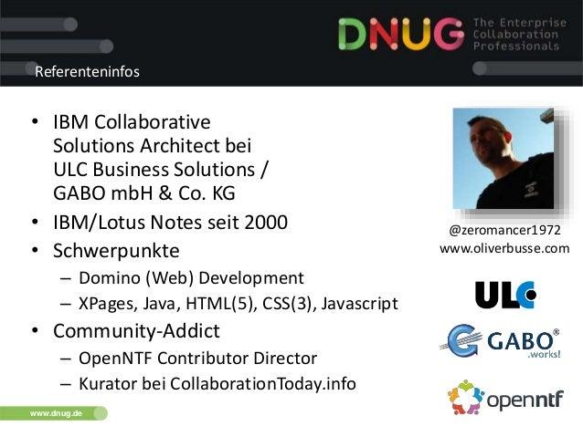 Dnug 112014 modernization_openn_ntf_ersatzsession Slide 2
