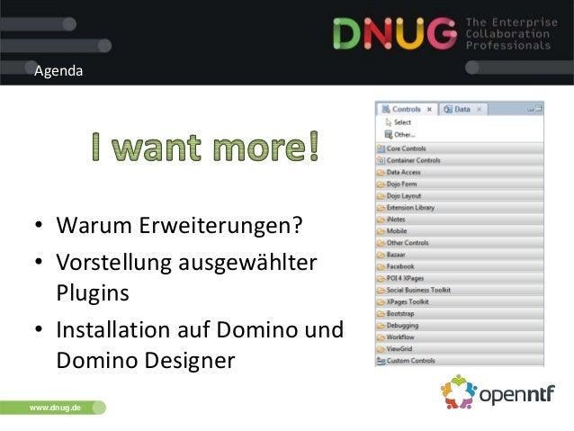 Dnug 112014 modernization_openn_ntf_ersatzsession Slide 3