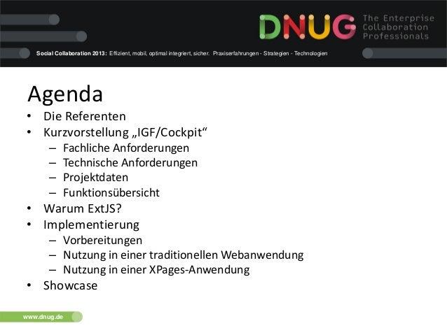 """DNUG 38: """"Einen Rahmen schaffen: Vorteile durch Frameworks in der Domino-Webentwicklung"""" Slide 2"""