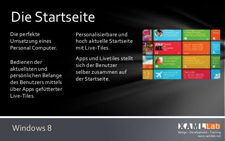 Das neue WindowsVerzicht auf Chrome –      Ab Log-In Komplettealso Rahmen und            Bedienung mitvisuellen Puderzucke...