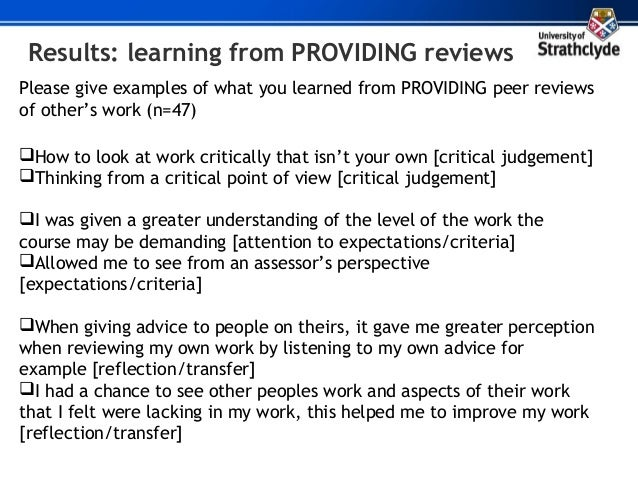 how to write a positive peer review