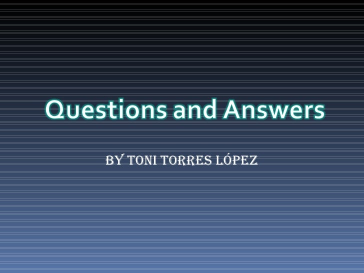 By Toni Torres López