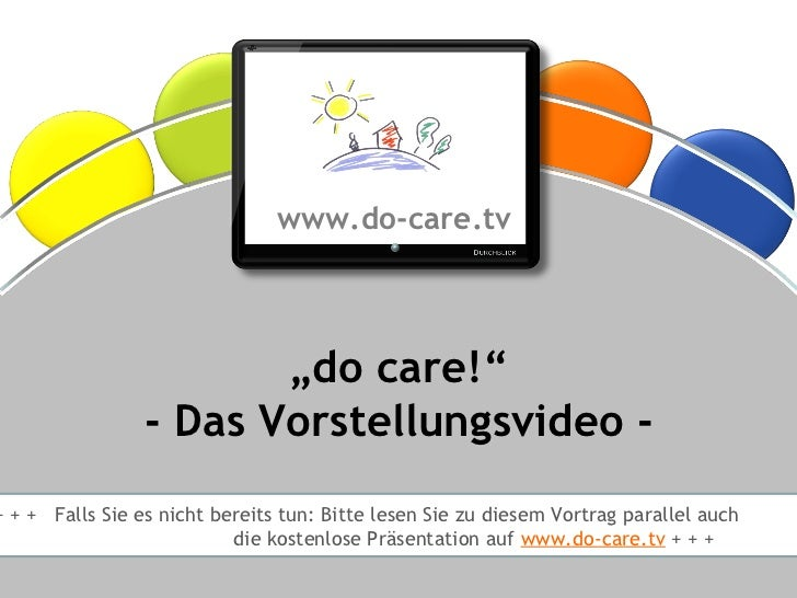 "®                                      www.do-care.tv                           ""do care!""                    - Das Vorste..."
