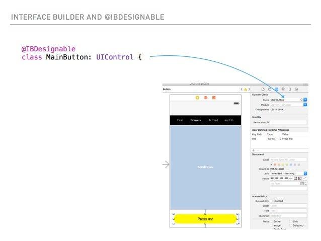 Letting your designer tweak your iOS app