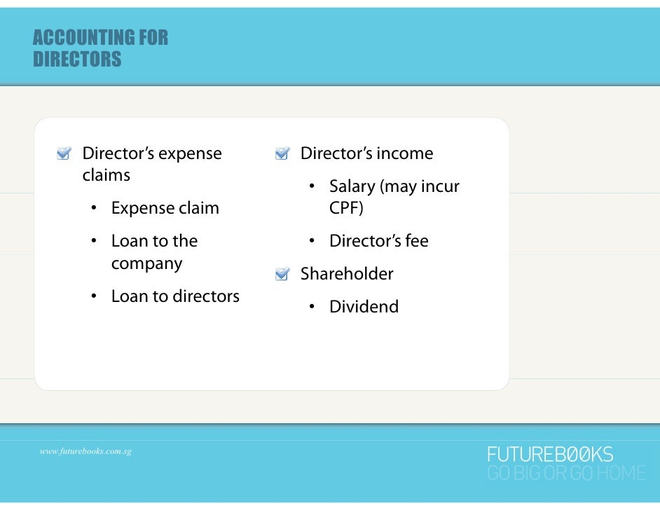 Diy bookkeeping for start up companies in singapore part 1 of 2 accounting fordirectors directors solutioingenieria Gallery