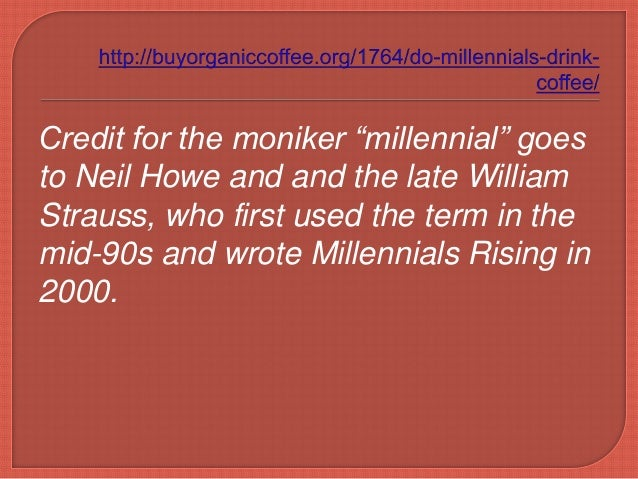 howe and strauss millennials rising pdf