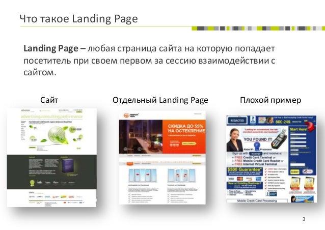 Landing pages для разных видов бизнеса - Илья Чухляев (Adventum) Slide 3