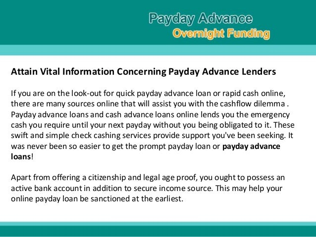 Payday loans market trends photo 9