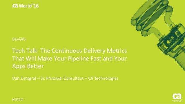 Tech Talk: The Continuous Delivery Metrics That Will Make