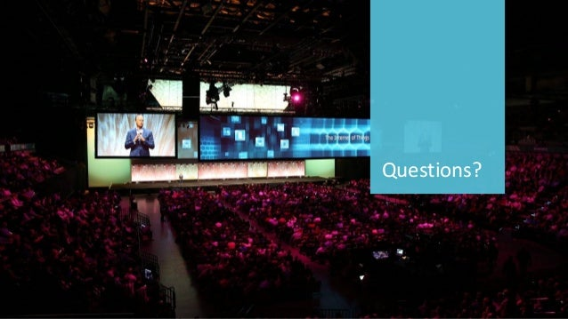 40 ©2016CA.ALLRIGHTSRESERVED.@CAWORLD#CAWORLD Questions?