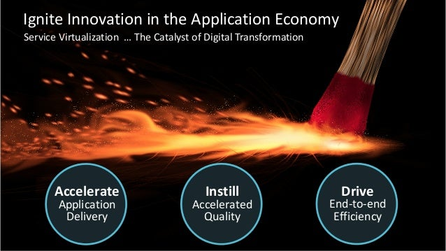 8 ©2016CA.ALLRIGHTSRESERVED.@CAWORLD#CAWORLD Accelerate Application Delivery Instill Accelerated Quality Drive...