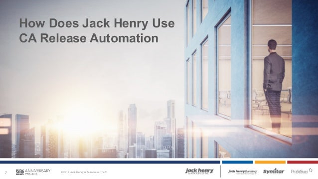 Case Study: Jack Henry & Associates Automates Application Deployments…