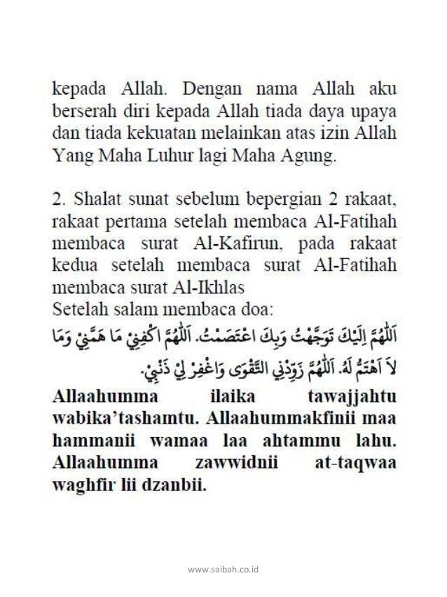 Doa Lengkap Ibadah Haji dan Umroh saibah Slide 3