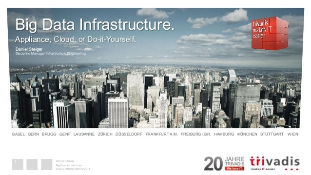 Big data infrastructure appliance cloud or do it yourself solutioingenieria Gallery