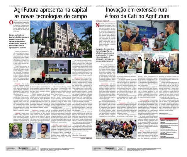 AgriFutura apresenta na capital as novas tecnologias do campo