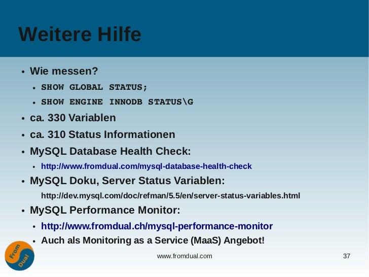 Mysql configuration the most important variables for Consul mysql health check