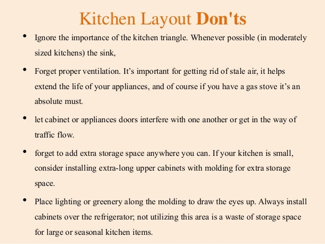 Do and Don'ts For Kitchen Remodeling