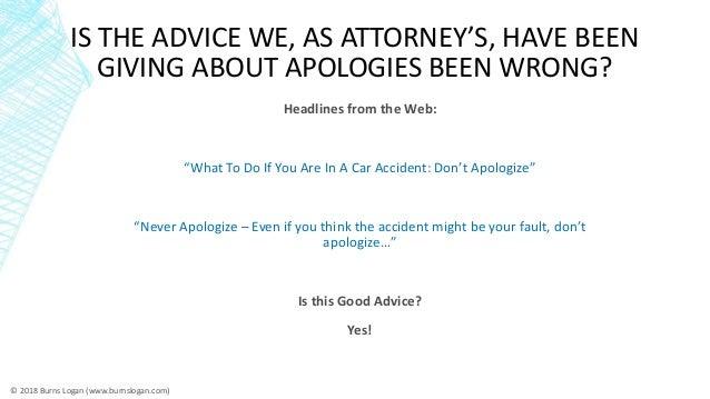 Do apologies work in construction mediation (ABA Presentation) Slide 2