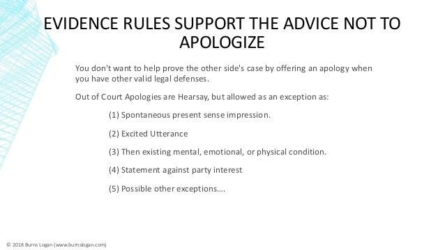 Do apologies work in construction mediation (ABA Presentation) Slide 3