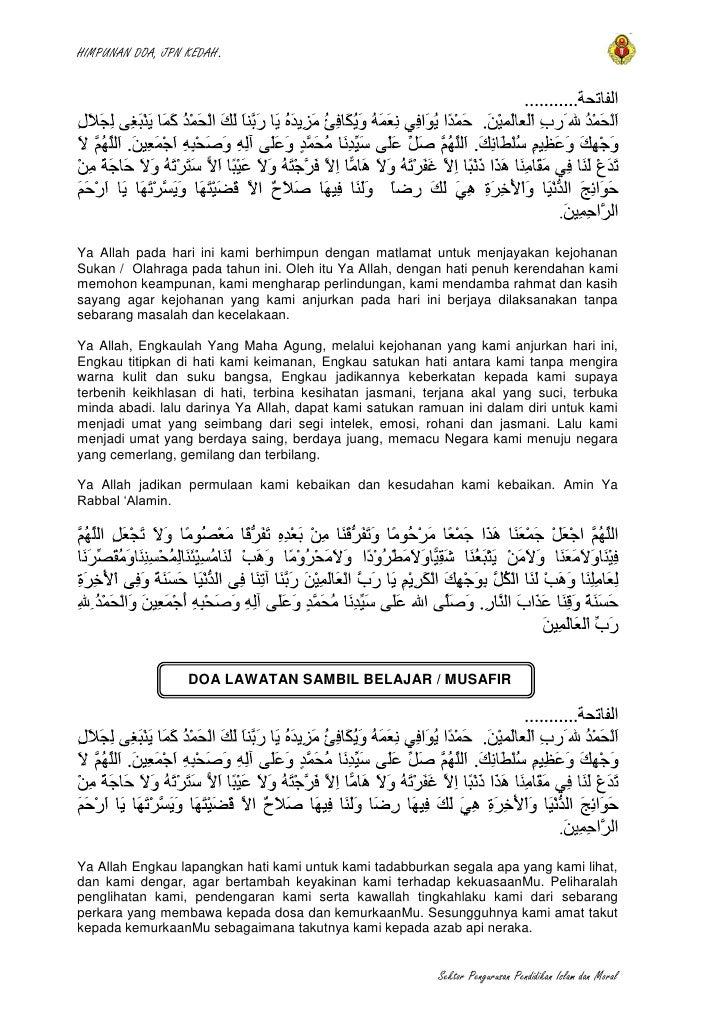 Doa Rasmi Spi Kedah