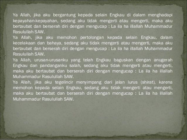 Doa sholawak akasah pwrpoint2003-97