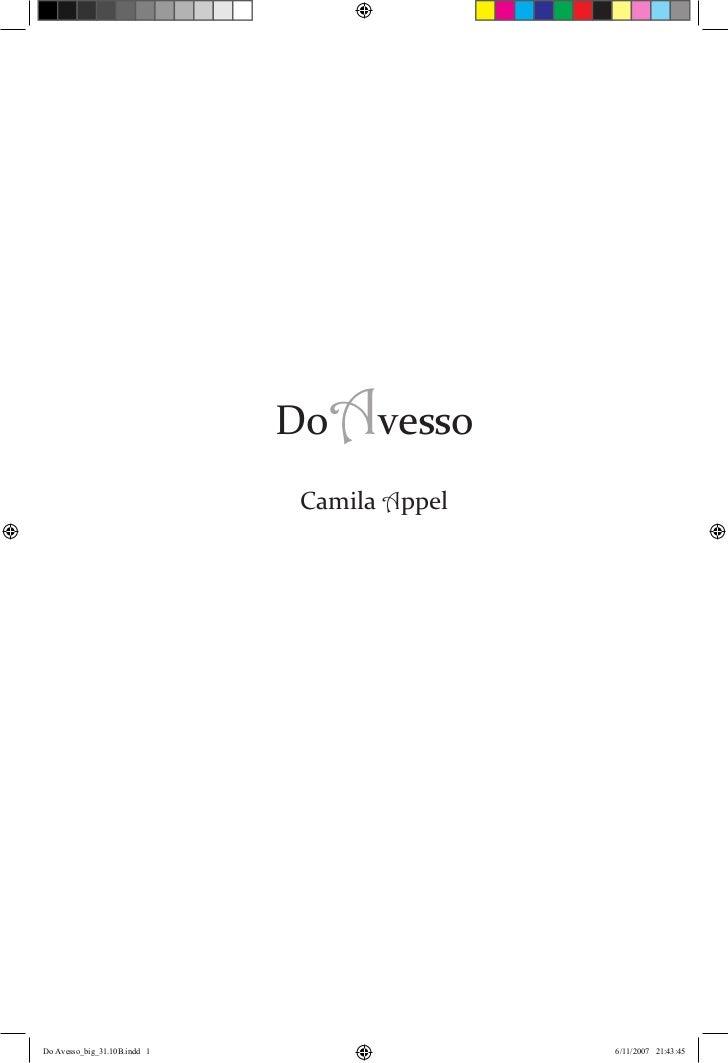 1                              DoAvesso                              Camila Appel                                         ...