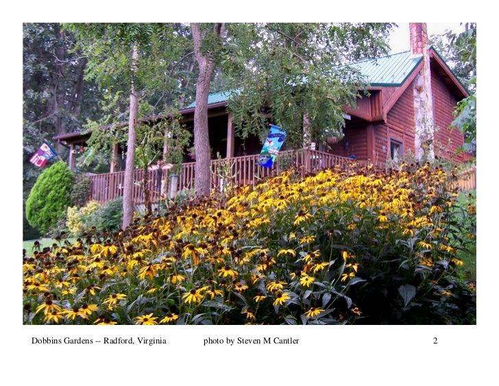 Dobbins Gardens -- Radford, Virginia   photo by Steven M Cantler   2