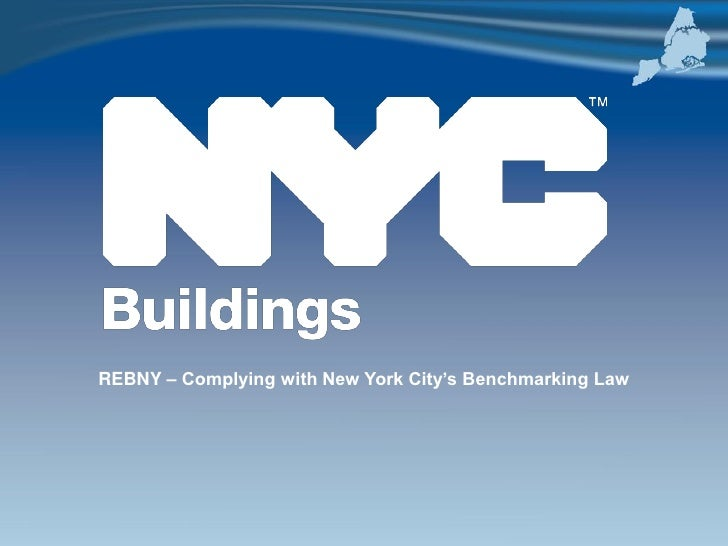 REBNY – Complying with New York City's Benchmarking Law