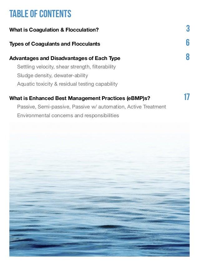 Environmental Applications of Coagulants and Flocculants Slide 2