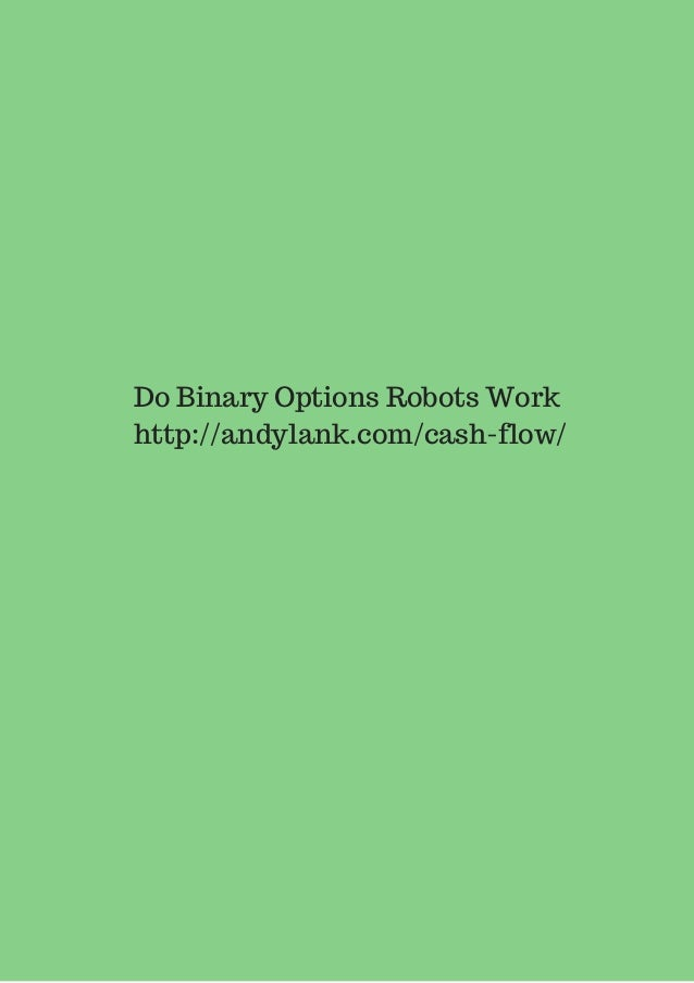 does binary option robot work