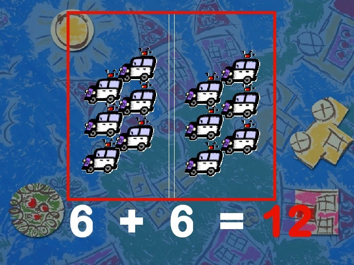 6 6 12 + =