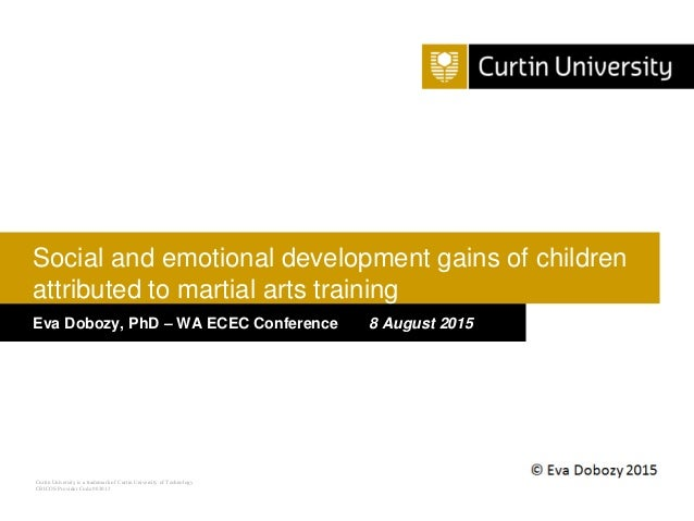 Curtin University is a trademark of Curtin University of Technology CRICOS Provider Code 00301J Eva Dobozy, PhD – WA ECEC ...