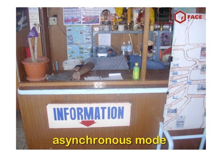 asynchronous mode