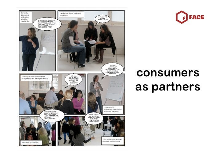 consumers as partners