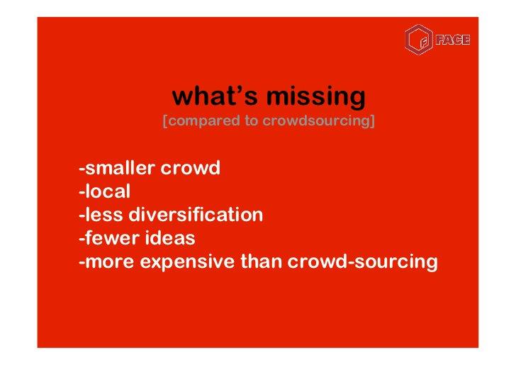 the hybrid model     consumer    crowd-sourcing   co-creation     immersion       listen            plan                en...