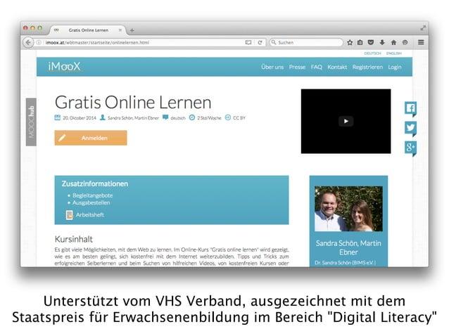 """"""" Ersetzt YouTube die Volkshochschule?"""