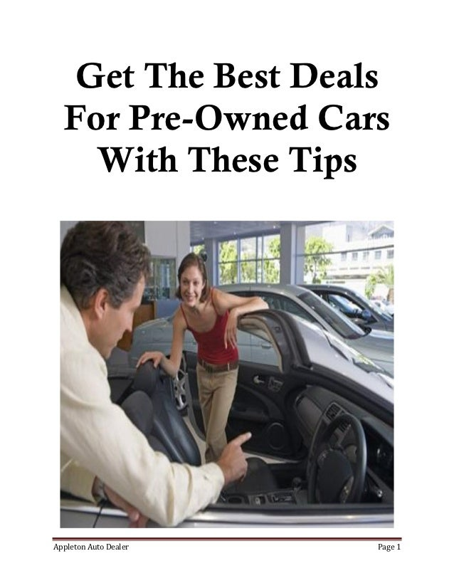 Used Cars: How To Get The Best Cars For Your Money