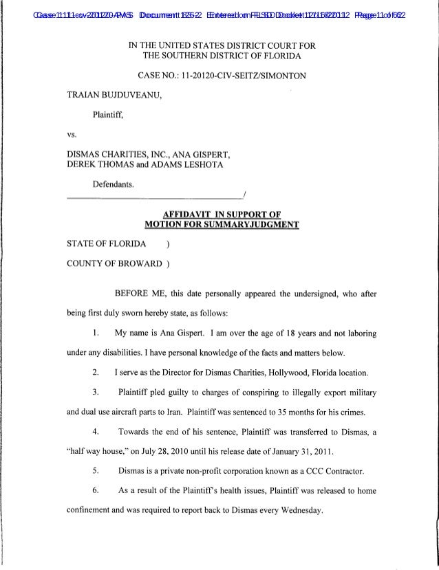 Case 1:11-cv-20120-AMS Document 126-2 Entered on FLSD Docket 12/16/2011 Page 11of 62 Case 1:11-cv-20120-PAS Document 83-2 ...