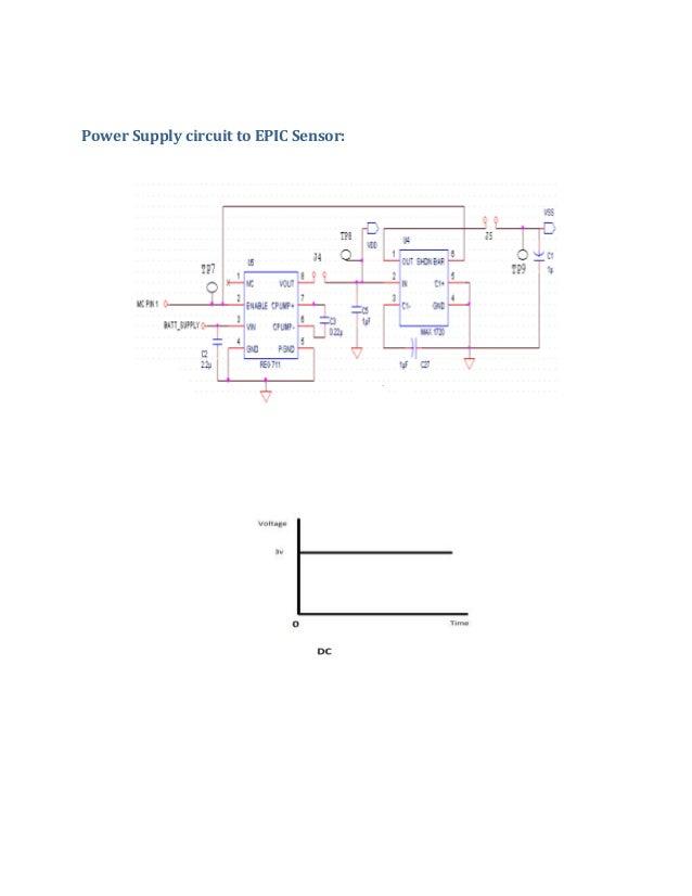 Power Supply circuit to EPIC Sensor: