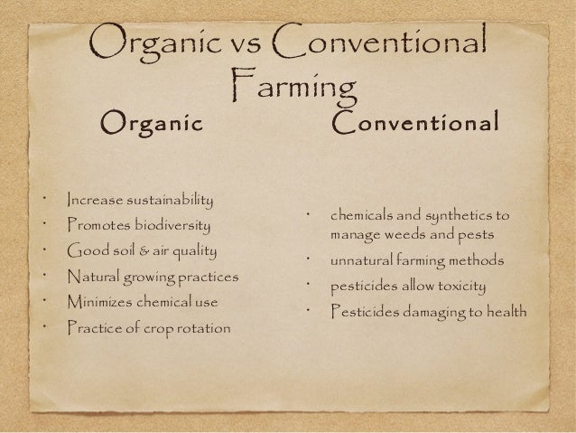 Why Organic is Better for You
