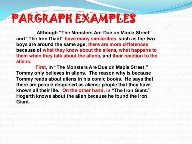 monsters essay