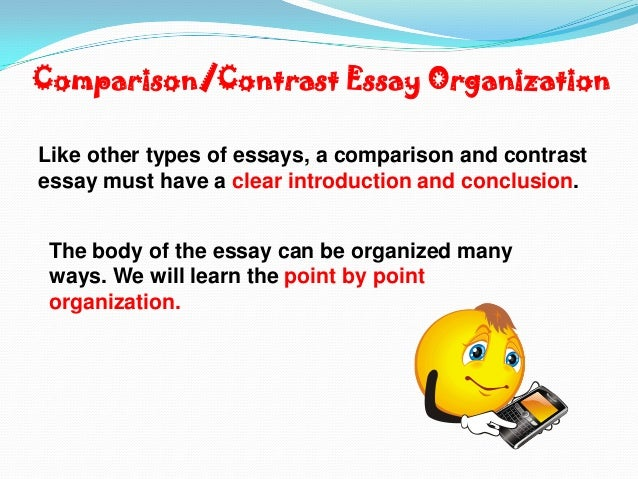 compare and contract essay comparison contrast