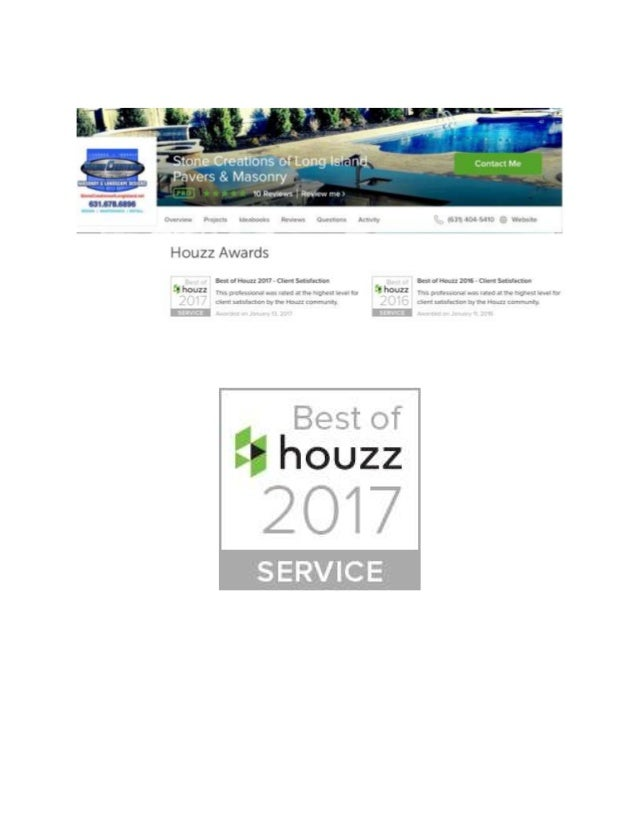 Best of Houzz 2017 - Stone Creations of Long Island