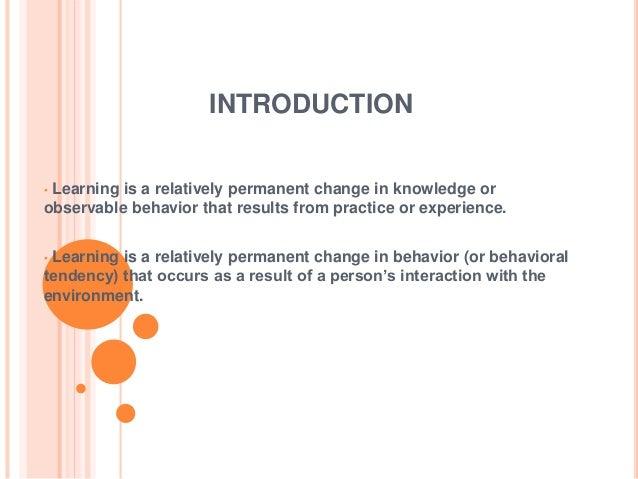 Behaviour Modification Slide 2