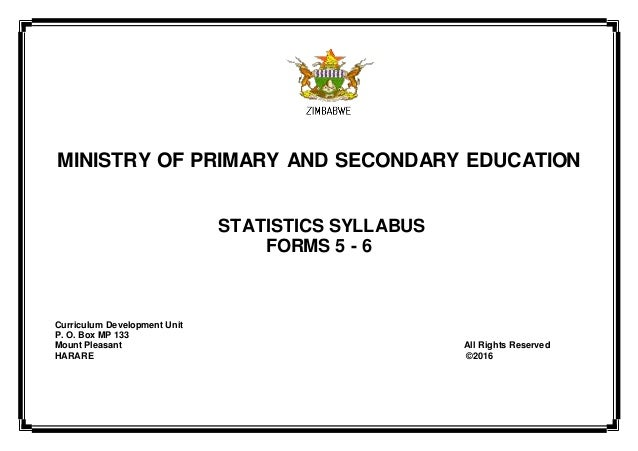 Ministry of primary and secondary education statistics