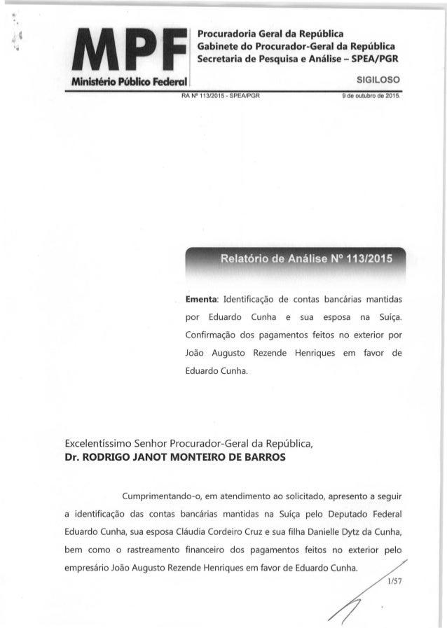 """"""". • Procuradoria Geral da Republica '. Gabinete do Procurador-Geral da Republica Secretaria de Pesquisa e Analise - SPEA/..."""