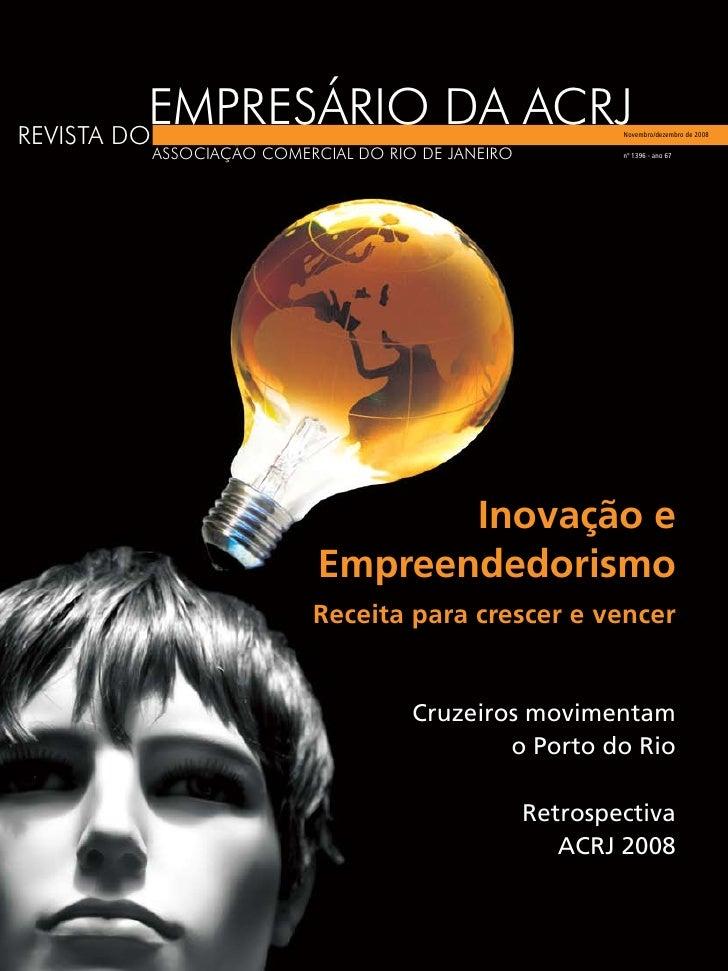 EMPRESÁRIO DA ACRJ REVISTA DO                                             Novembro/dezembro de 2008        ASSOCIAÇÃO COME...