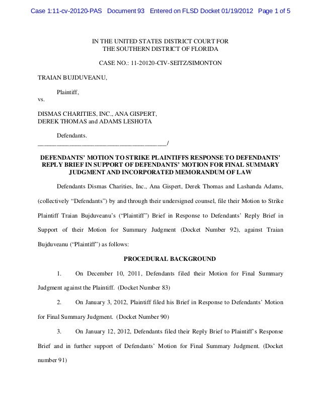 Case 1:11-cv-20120-PAS Document 93 Entered on FLSD Docket 01/19/2012 Page 1 of 5                       IN THE UNITED STATE...