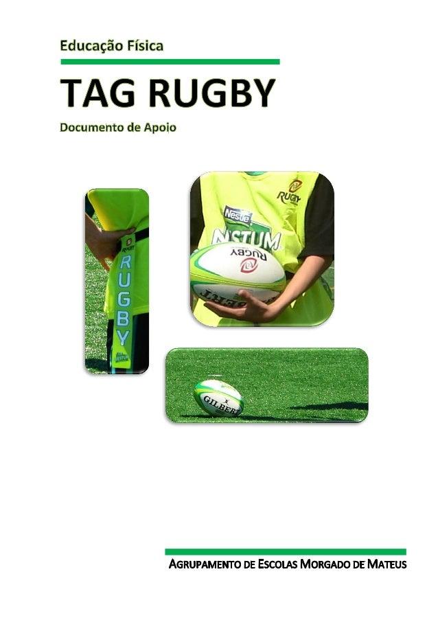 Documento de Apoio TAG - Rugby                                                                Documento de Apoio TAG - Rug...
