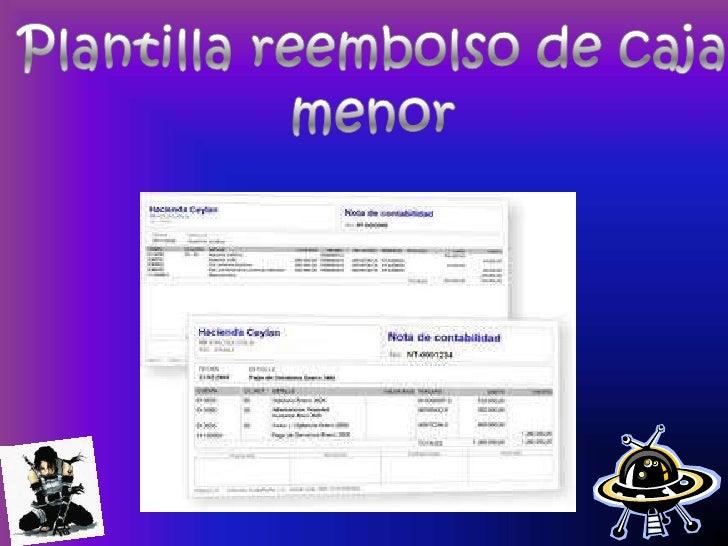 Recibo De Caja Menor Paquete Empresarial Para Cali 2011